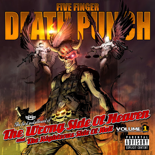 Five Finger Death Punch альбом The Wrong Side Of Heaven And The Righteous Side Of Hell (Volume 1)