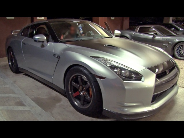 900hp GT-R hits the STREETS - TX2K13 Texas Streets