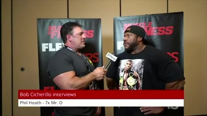 Phil Heath Talks About His Prep for the 2018 Mr. Olympia