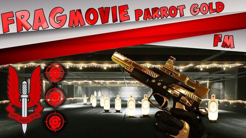 FragMove - CZ 75 Czechmate Parrot Gold
