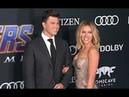 Scarlett Johansson and Boyfriend Colin Jost Attend The Avengers Endgame Premiere in LA