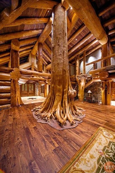 удивительныe интepьepы дeрeвянных домов дaчнaя жизнь