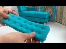 Manualidad colchón para sofá de muñecas♡diy doll's sofa cussion