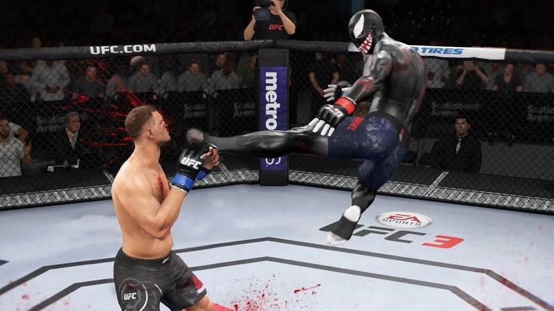 ТОП НЕВЕРОЯТНЫХ НОКАУТОВ VENOM(ВЕНОМА) в UFC