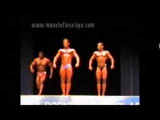 Ronnie Coleman First Contest at the 1990 Metroflex Classic (GoB)