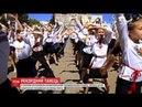 Понад тисяча дітей одночасно станцювала в Обухові та встановила новий рекорд