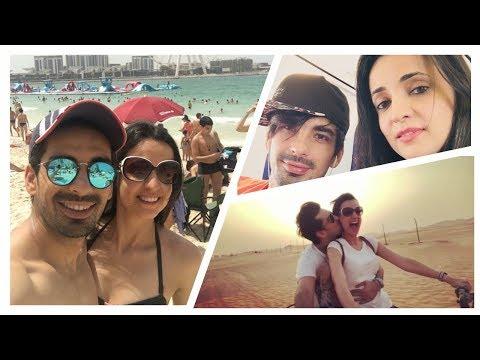 Sanaya Irani and Mohit Sehgal - Romantic Holiday Moments Of Sanaya and Mohit In Dubai