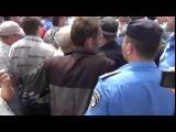 Харьков. Колорады отбивают петуха у милиции 25.05.2014