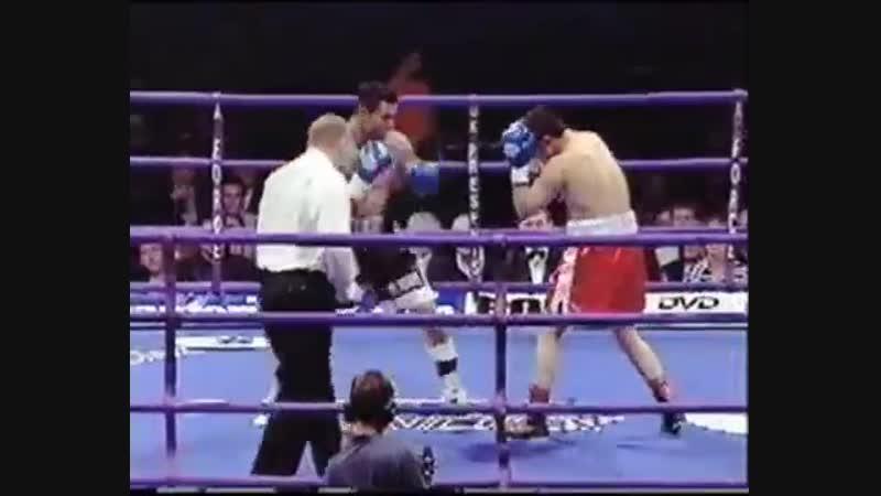 Профессиональный бокс Робин Рид Роман Бабаев Лондон 19 мая 2001 год