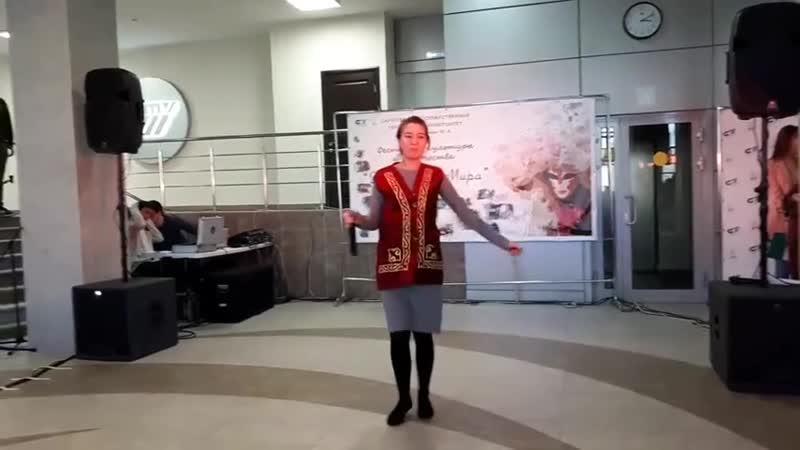 Зарина . Палитра Мира -фестиваль молодёжи всего Мира -18г Саратов