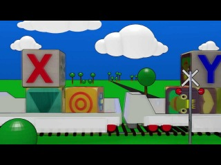 Learn the Alphabet with Truck and Train