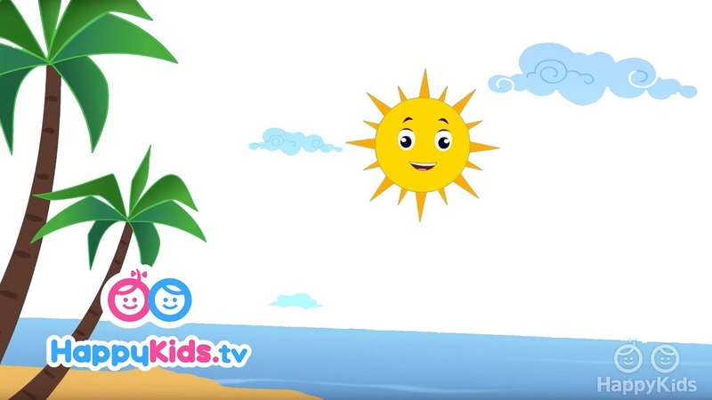 Summer - Learning Songs Collection For Kids And Children | Rhyme time | Happy Kids