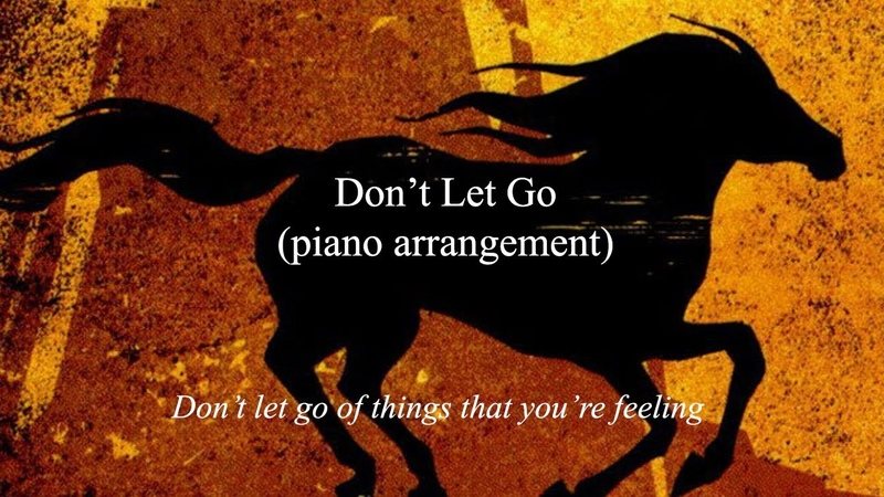 Spirit - Don't Let Go (piano cover)