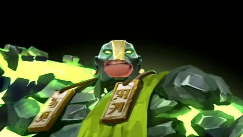 Земляной spirit делает нереальные gang on mid и выигрывает game своми teammates