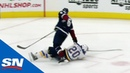 Erik Johnson Tossed For Elbowing Alex Steen As Tempers Flare Between Blues Avalanche