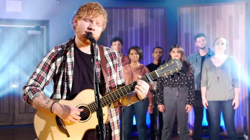 Ed Sheeran - Cant Help Falling In Love (Elvis All Star Tribute 2019)