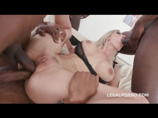 BlackEnded with Natalie Cherry 4 white then 4 black No Pussy / Balls Deep Anal / DAP / Gapes / Farts / Swallow / Facial GIO721