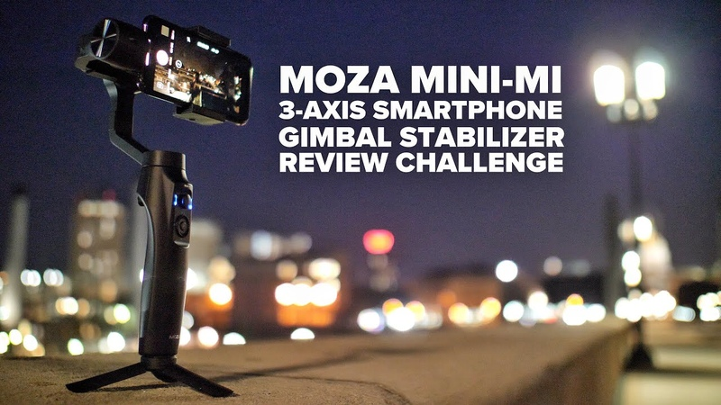 I May Never Be Asked To Review Tech Again Moza Mini Mi Smartphone Gimbal