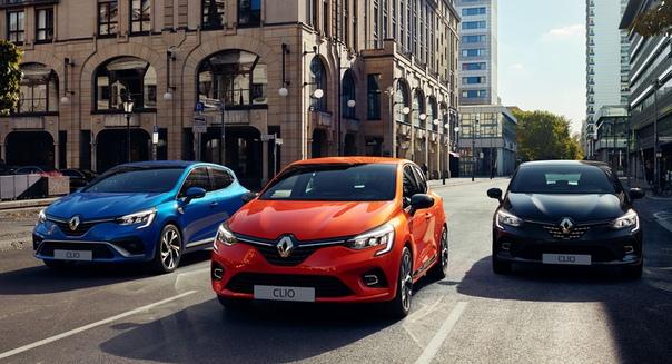 Новый Renault Clio полностью рассекречен