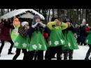 Обнинск Городской парк Масленица 17 февраля 2018 гфильм