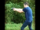 Shatgut training against illegal actions. Beretta 92 Go