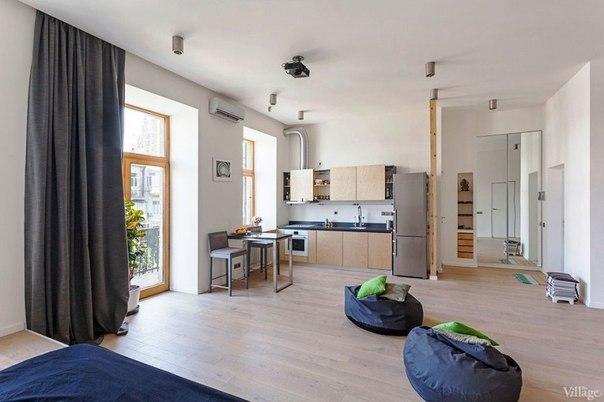 Открытое пространство в квартире