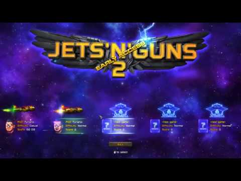 Jets'n'Guns 2 Early Access From Normal to Apocalypse
