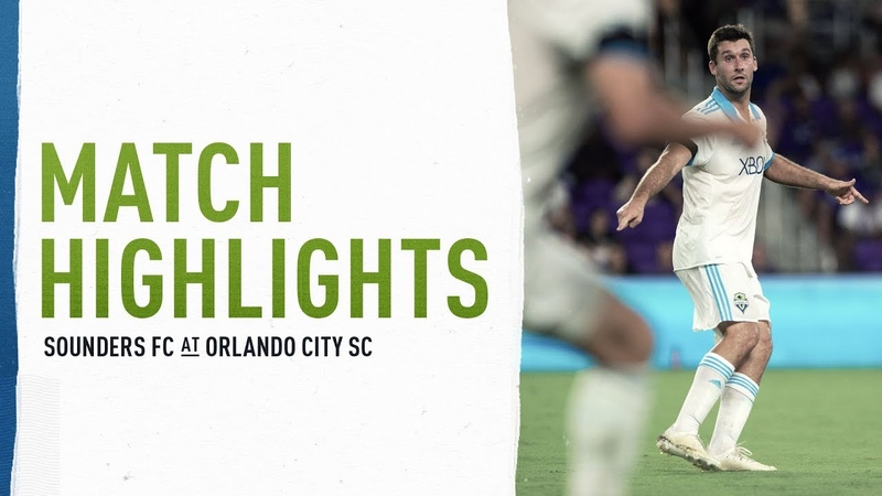 HIGHLIGHTS Seattle Sounders FC at Orlando City SC | October 17, 2018