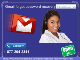 Feel no worries while using Gmail Forgot Password Recovery 1-877-204-2341 feature…