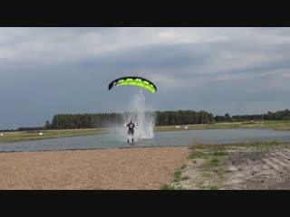 Canopy Piloting Freestyle Dropzone Denmark 2016 Pre Swoop Challenge Training Camp