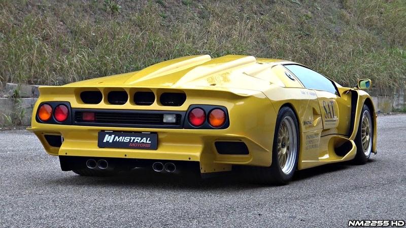 Ultra RARE Lamborghini Diablo GT1 Stradale Start Up Revs Overview