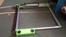 Homemade 5 5W laser engraver cutter first run