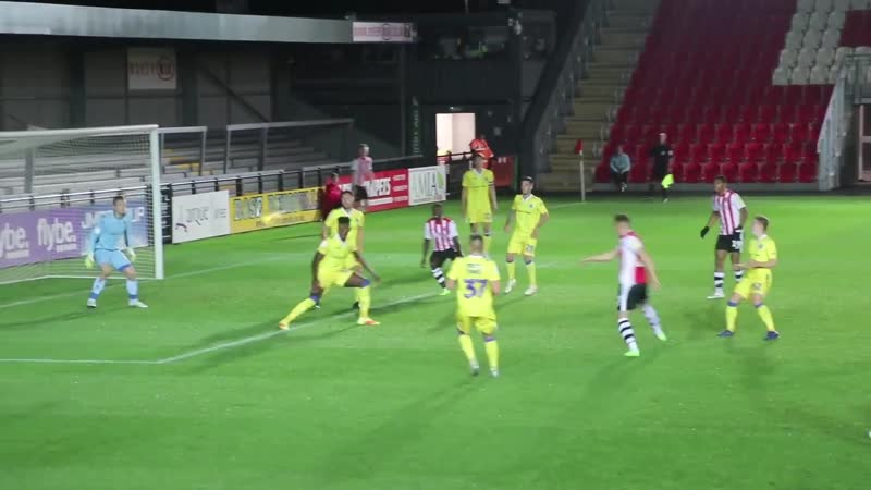 Матч за Минуту: Эксетер Сити 2:0 Бристоль Роверс (13/11/18) ¦ Exeter City Football Club