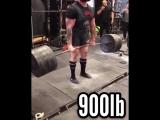 Стив Джонсон - тяга 410 кг