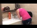 Тц (в туалете) и не надо стесняться