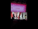 180414 Red Velvet 레드벨벳 talk - 2018 ETUDE PINK PLAY CONCERT