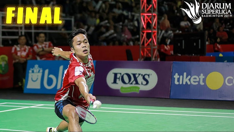 Final | Anthony Sinisuka GINTING vs Ihsan Maulana MUSTOFA - Badminton SuperLiga 2019