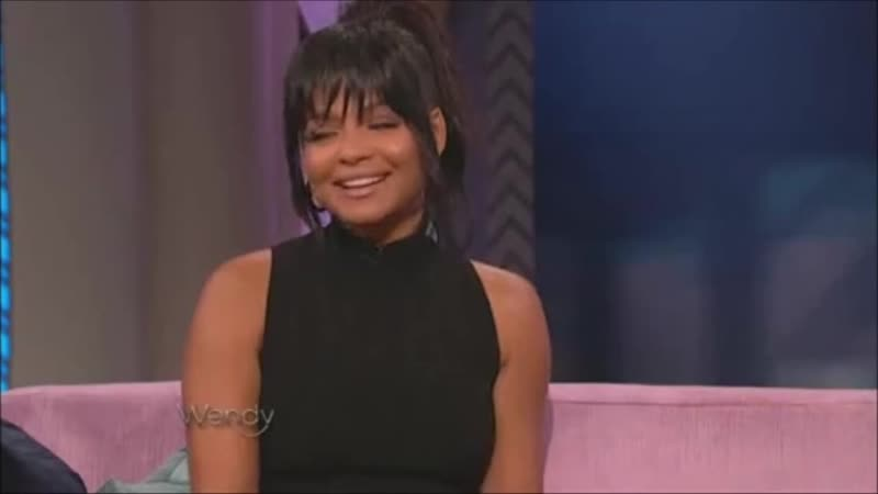 Christina Milian au Wendy Williams Show le 19 Octobre 2016