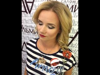 Причёска и макияж от стилиста Марии Богдановой