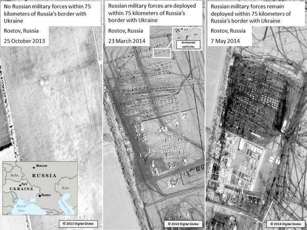 НАТО выложило в сеть «доказательства» присутствия российских войск в Ростовской области на границе с Украиной