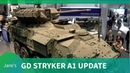General Dynamics US Army Stryker upgrade to A1 configuration AUSA 2018