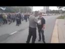 Chemnitz Ein Teilnehmer ruft Chemnitz den Deutschen Ausländer raus und wird daraufhin aus der Demo ausgeschlossen 7 9 18