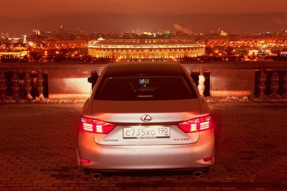 Глушитель Lexus ES 2013