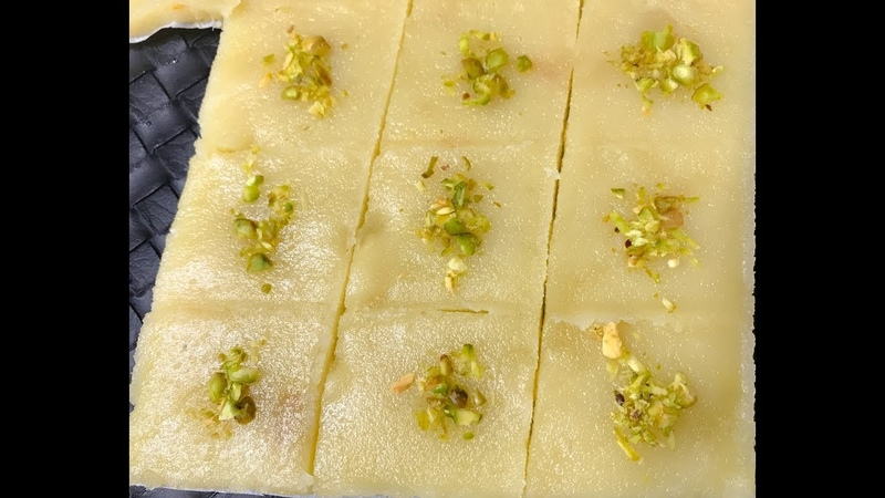 Badam Burfi | Almond Burfi Recipe | Badam Katli | Indian Traditional Sweet