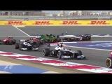 Вылеты и аварии в Формуле 1 2013