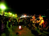 Alborada del Inka на набережной вечерней Ялты