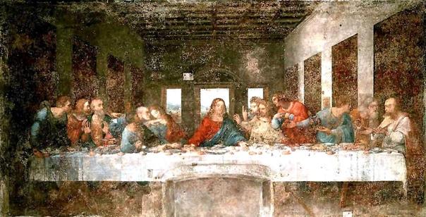 создавая фреску тайная вечеря леонардо да винчи очень долго искал идеальные модели. иисус должен воплощать добро, а иуда, решивший предать его на этой трапезе, — зло. леонардо много раз