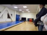 Кирилл Беляев акробатика на дорожке