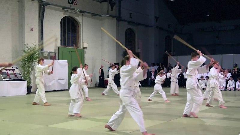 Children Demonstration International Aikido Celebration
