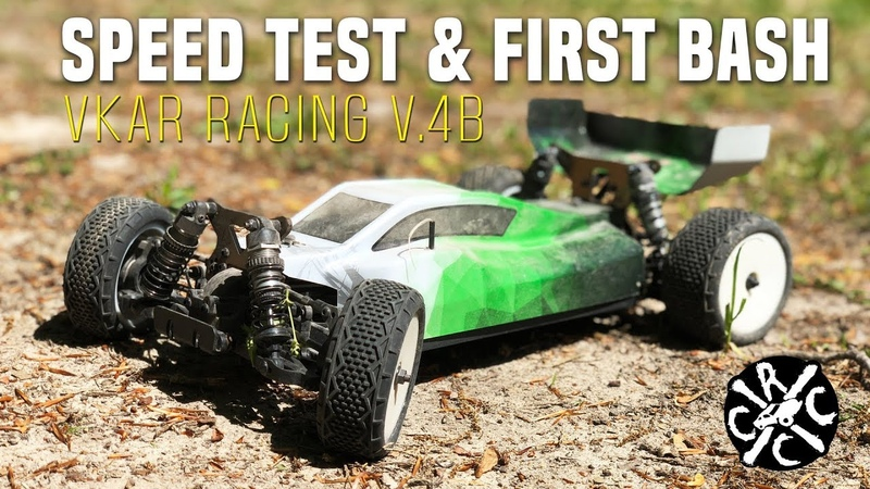 VKAR Racing V.4B Speed Test and Bash